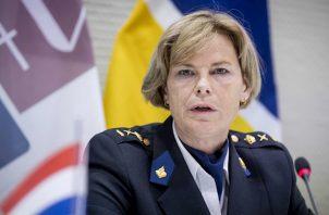 """""""Ha sido como si estuviéramos sentados en una mesa de reunión con los delincuentes"""", subrayó la jefa de la Policía holandesa, Jannine van den Berg."""