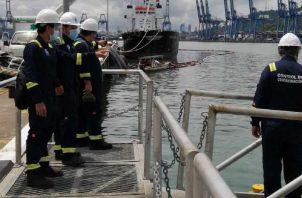 La contaminación puede extenderse desde el puerto Rodman hasta Farfán, Taboga y la bahía. Cortesía