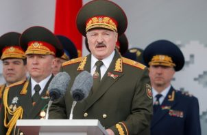 Sondeos arrojan que declina el apoyo a Aleksandr Lukashenko. Foto / Vasily Fedosenko/Reuters.