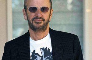 El exbatería de Los Beatles, Ringo Starr en 2003 en Madrid. Foto: EFE/MG