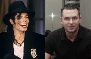 Michael Jackson y Matt Fiddes. Fotos: Instagram/globalfranchisemagazine