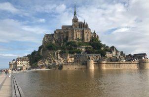 Una bella vista del Mont Saint Michel. EFE