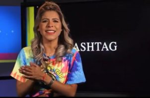 Presentadora de 'Hashtag'. Foto: Instagram