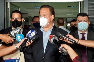 La Fiscalía Anticorrupción investiga a Juan Carlos Varela por la presunta comisión del delito de blanqueo de capitales proveniente de la empresa Odebrecht. Foto Víctor Arosemena