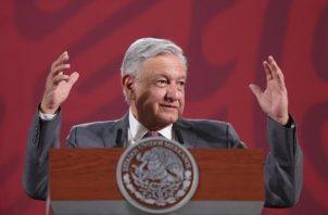 Andrés Manuel López Obrador, recordó que con anterioridad no se había hecho la prueba porque, siguiendo los consejos de las autoridades de salud mexicanas, al no presentar síntomas esta no era considerada necesaria. FOTO/EFE