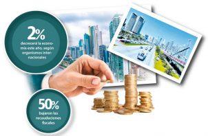 Según organismos internacionales, la economía panameña se contraerá este año un 2%.
