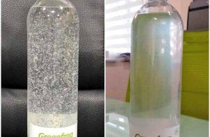 Se procede a la farmacovigilancia aleatoria y se determina la irregularidad del Gel Alcoholado Green Frog.