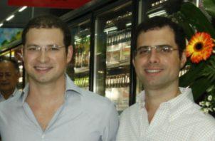 Luis Enrique Martinelli y Ricardo Alberto Martinelli se trasladaban hacia Panamá cuando fueron aprehendidos.