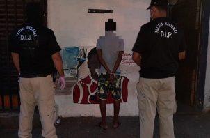 El operativo se realizó en El Chorrillo