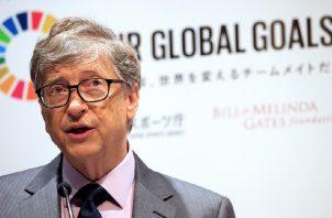 Bill Gates, copresidente de la Fundación Bill y Melinda Gates.