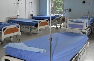 Los hospitales privados han separado sus estructuras, en un lado atienden a pacientes con la COVID-19 y en otro a los demás. Hospital San Fernando.