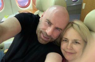 John Travolta y Kelly Preston. Foto: Instagram