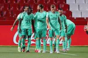 Real Madrid. Foto:EFE