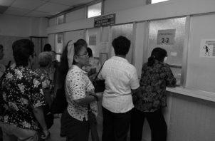La Caja de Seguro Social mantiene un desabastecimiento de medicamentos e insumos de un 78%. Foto: Archivo.