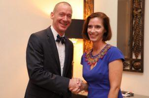 Laidlaw estuvo al frente de la Embajada en Panamá durante seis meses.