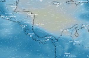 El polvo del Sahara estará en Panamá hasta el viernes.