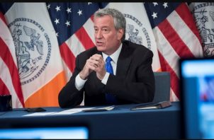 Bill de Blasio de Nueva York. EFE