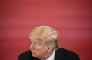 El presidente Donald J. Trump dice no haber visto informes sobre que Rusia pagaba botines al talibán por vidas estadounidenses. Foto / Samuel Corum para The New York Times.