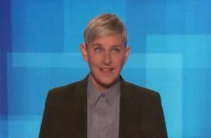 Ellen DeGeneres es la conductora del programa que lleva su nombre. Foto: Instagram