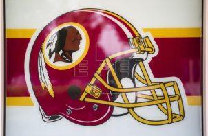 Casco de los Redskins. Foto:EFE