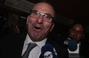 Rolando López, exjefe del Consejo de Seguridad durante el Gobierno de Juan Carlos Varela. Archivo