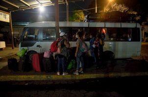 Aunque nueve integrantes del grupo no pudieron viajar por dar positivo a la prueba de COVID-19, el éxito de los 46 animó a otros 78 nicaragüenses a probar suerte.