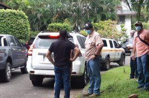 El presunto implicado estaba en la comunidad de Caño Quebrado, que pertenece al corregimiento de Achiote en el distrito de Chagres en la Costa Abajo de la provincia de Colón.