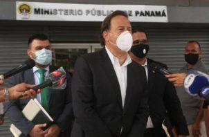 El expresidente Juan Carlos Varela enfrenta proceso por blanqueo de capital, en el caso Odebecht.