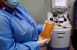 Panamá apuesta a la terapia con plasma convaleciente para pacientes COVID-19 positivos.