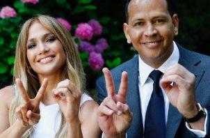 Jennifer López y su pareja también han estado apoyando a las personas afectadas por la pandemia de la COVID-19. Foto: Instagram