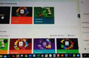 La plataforma ESTER cuenta con la colaboración de docentes, especialistas y tecno pedagogos del sistema educativo panameño.