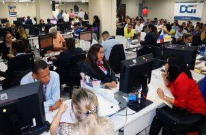 Los ingresos corrientes del Gobierno de Panamá cayeron un 34.1% en el primer semestre de este año.