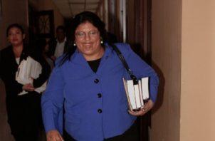 Tania Sterling, fiscal especial anticorrupción. Archivo