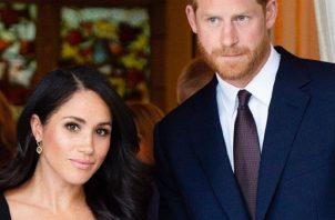 Meghan Markle y el Príncipe Harry. Foto: Instagram