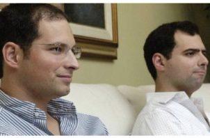 Luis Enrique y Ricardo Martinelli Linares, diputados suplentes panameños en el Parlamento Centroamericano (Parlacen). Foto: Maibortpetit,info