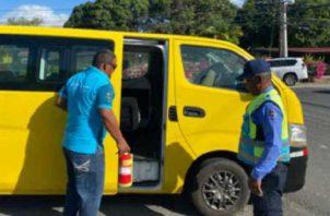 Los conductores ya han solicitado varias reuniones en diferentes instituciones gubernamentales. Archivo.