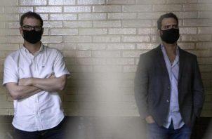 Luis Enrique y Ricardo Alberto Martinelli Linafes fueron detenidos ilegalmente en Guatemala, a pesar de gozar de inmunidad parlamentaria. Foto: Santamariatimes.