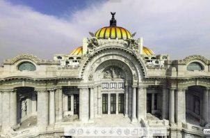 Vista exterior del Palacio de Bellas Artes. CORTESÍA