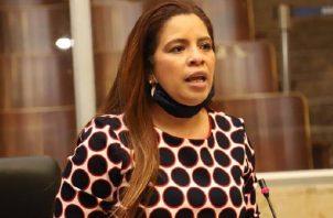 La diputada Corina Cano, presentó el proyecto del ley el pasado 21 de julio. Cortesía
