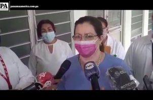 Exministra de Salud Rosario Turner