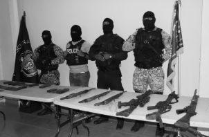 En Panamá, el tráfico internacional de armas es considerado delito desde 1995. Foto: Archivo. Epasa.