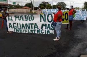 Los pacientes no descartan realizar una protesta este martes en la vía Transístmica, de no obtener una respuesta satisfactorias por parte de las autoridades de la Caja de Seguro Social..