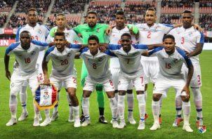 Selección de Panamá. Foto:Fepafut