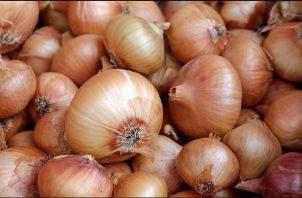 La cebolla es uno de los productos más consumidos en el país. Archivo