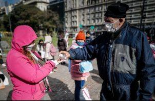 El pasado sábado, el Gobierno argentino rechazó la contrapropuesta de los acreedores en términos económicos. EFE