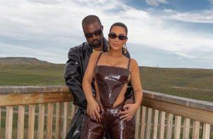 Kim Kardashiam y Kanye West tienen cuatro hijos. Foto: Instagram
