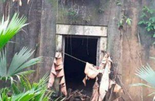 Área del bunker de Espinar