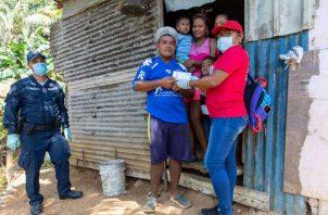 El Plan Panamá Solidario, realiza ingentes esfuerzos para  llevar alivio a todas las familias afectadas por la pandemia por COVID-19.