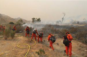 Lo que sí ha aumentado es el número de efectivos desplazados para combatir el incendio, dado que más de 2.500 bomberos se encuentran trabajando en el lugar para apagar las llamas.