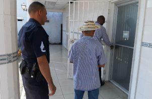 Está detenido de manera provisional en la cárcel de Santiago de Veraguas. Foto: Melquíades Vásquez.
